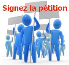 signez la pétition en ligne